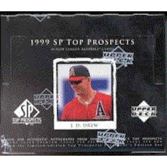 1999 Upper Deck SP Top Prospects Baseball Hobby Box