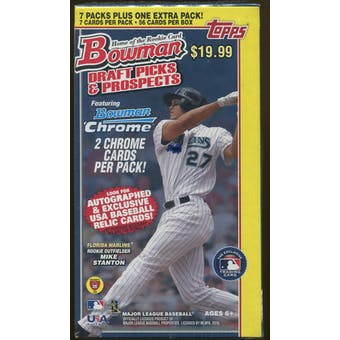 2010 Bowman Draft Picks & Prospects Baseball 8-Pack Box