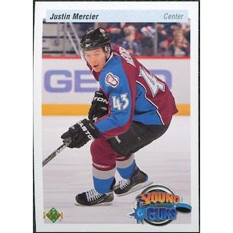 2010/11 Upper Deck 20th Anniversary Variation #462 Justin Mercier YG