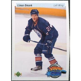 2010/11 Upper Deck 20th Anniversary Variation #486 Linus Omark YG RC