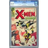 X-Men #1 CGC 5.0 (C-OW) *1197567002*
