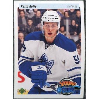 2010/11 Upper Deck 20th Anniversary Variation #498 Keith Aulie YG