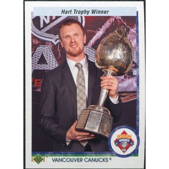 2010/11 Upper Deck 20th Anniversary Parallel #526 Henrik Sedin AW