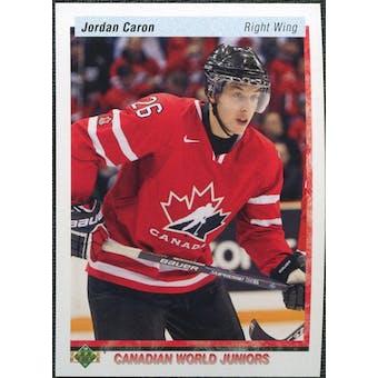 2010/11 Upper Deck 20th Anniversary Parallel #546 Jordan Caron CWJ RC