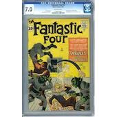 Fantastic Four #2 CGC 7.0 (OW) *1199161002*