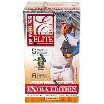 2011 Donruss Elite Extra Edition Baseball 6-Pack Box (1 Auto Card Per Box)!!