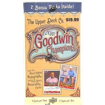 2011 Upper Deck Goodwin Champions 12-Pack Box