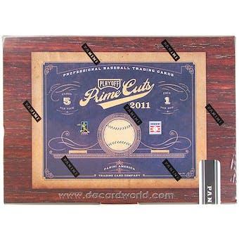 2011 Panini Prime Cuts Baseball Hobby Box