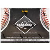 2011 Panini Limited Baseball Hobby Box