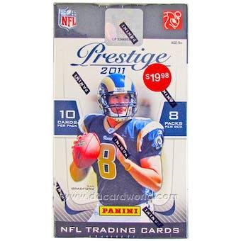 2011 Panini Prestige Football 8-Pack Box - CAM NEWTON !!!