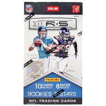 2011 Panini Rookies & Stars Football 8-Pack Box
