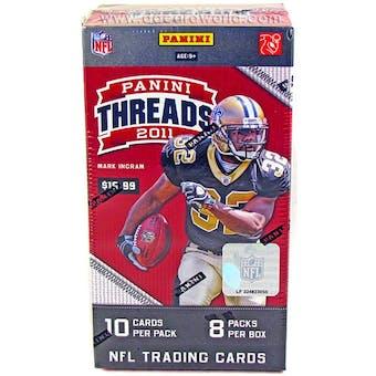 2011 Panini Threads Football 8-Pack Box