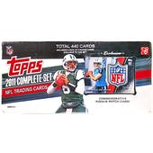 2011 Topps Factory Set Football Box (Rookie Patch Card!!)