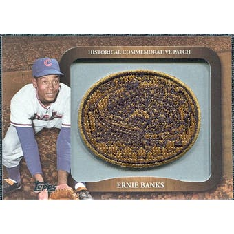 2009 Topps Legends Commemorative Patch #LPR119 Ernie Banks