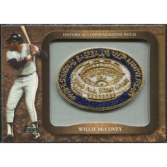 2009 Topps Legends Commemorative Patch #LPR133 Willie McCovey