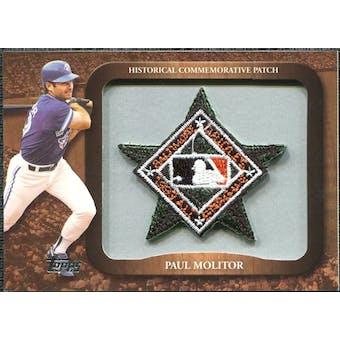 2009 Topps Legends Commemorative Patch #LPR148 Paul Molitor