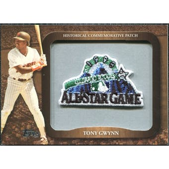 2009 Topps Legends Commemorative Patch #LPR150 Tony Gwynn