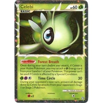 Pokemon Triumphant Single Celebi 92/102