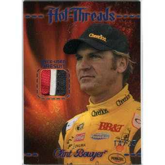 2010 Press Pass Premium Hot Threads Multi Color #HTCB Clint Bowyer 14/25