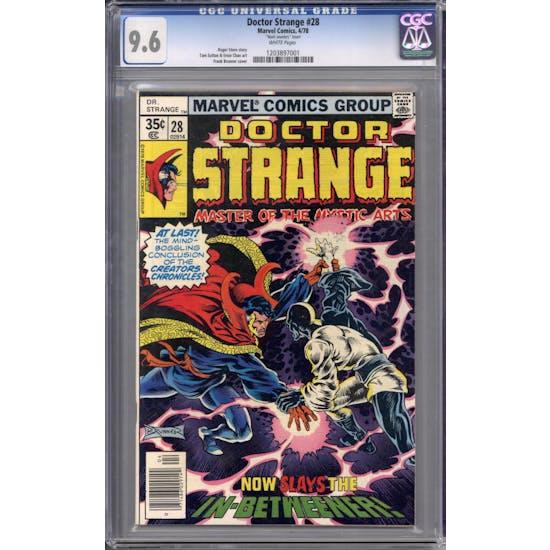 Doctor Strange #28 CGC 9.6 (W) *1203897001*