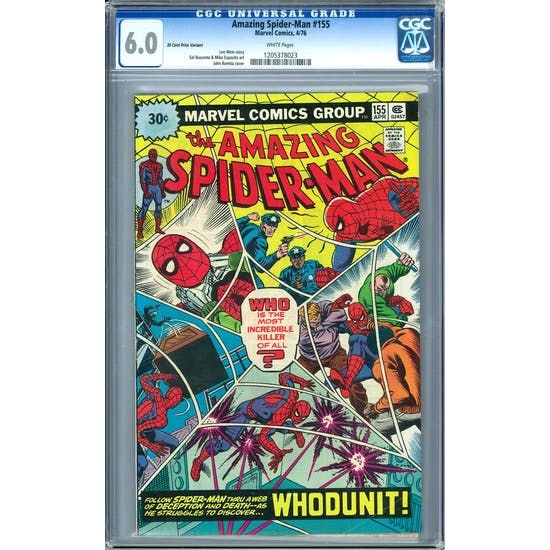 Amazing Spider-Man #155 CGC 6.0 (W) *1205378023*