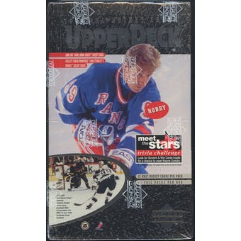 1996/97 Upper Deck Series 1 Hockey Hobby Box