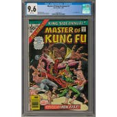 Master of Kung Fu Annual #1 CGC 9.6 (W) *1207360019*
