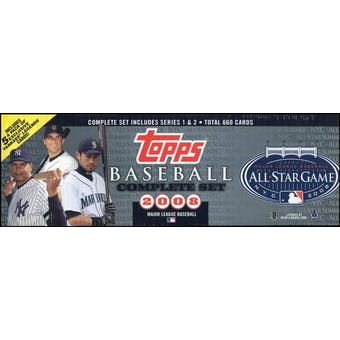 2008 Topps Factory Set Baseball All-Star Edition (Box)