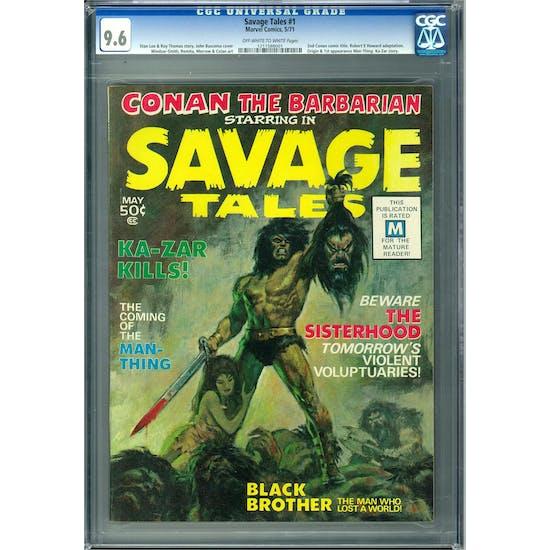 Savage Tales #1 CGC 9.6 (OW-W) *1211588001*