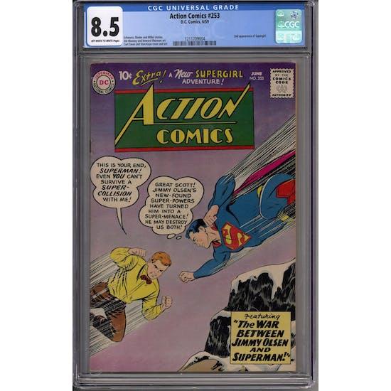 Action Comics #253 CGC 8.5 (OW-W) *1211709004*