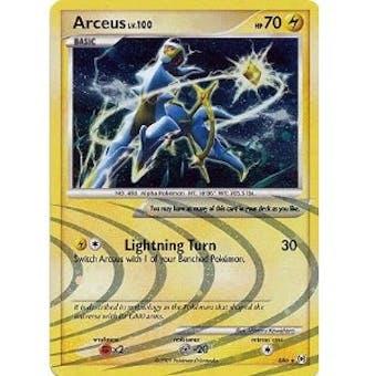 Pokemon Arceus Single Arceus lv. 100 AR6