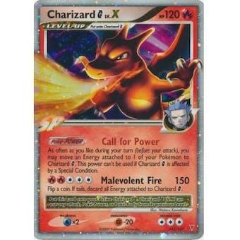 Pokemon Supreme Victors Single Charizard lv. X 143/147 - MODERATE PLAY (MP)
