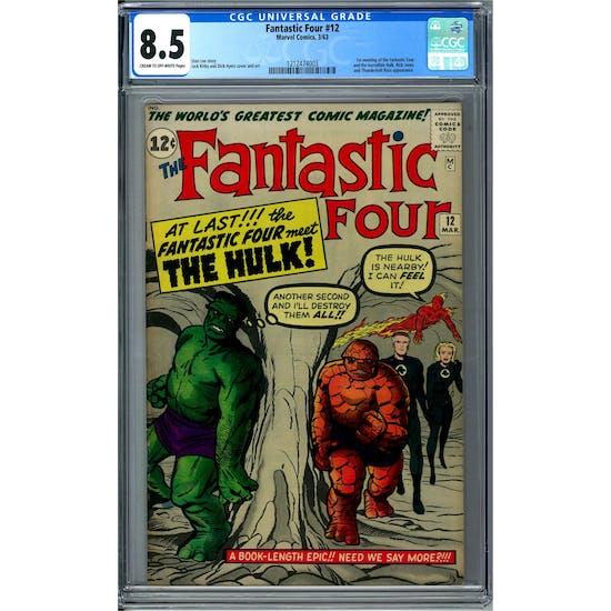 Fantastic Four #12 CGC 8.5 (C-OW) *1212474003*
