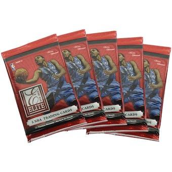 2012/13 Panini Elite Basketball Hobby Pack (Lot of 5)