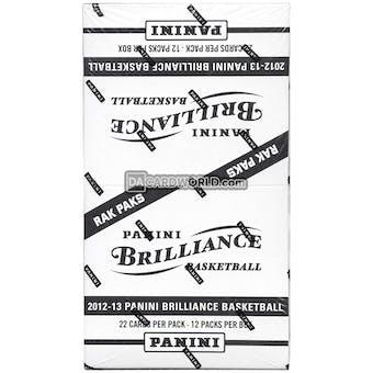 2012/13 Panini Brilliance Basketball Rack Pack Box (264 Cards)!