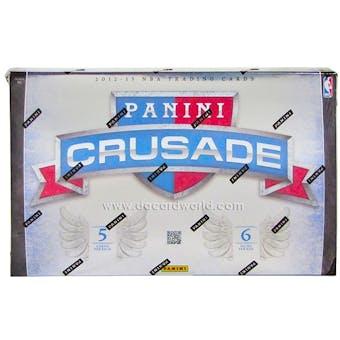 2012/13 Panini Crusade Basketball Hobby Box