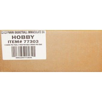 2012/13 Panini Immaculate Basketball Hobby 6-Box Case