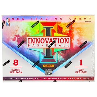 2012/13 Panini Innovation Basketball Hobby Box