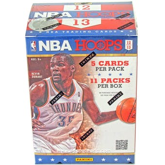 2012/13 Panini Hoops Basketball 11-Pack Box (Lot of 5)