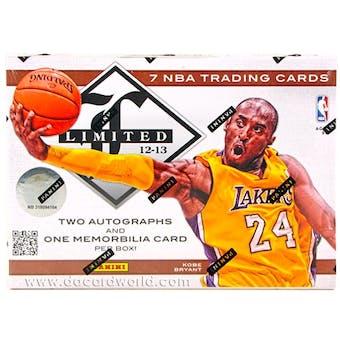 2012/13 Panini Limited Basketball Hobby Box