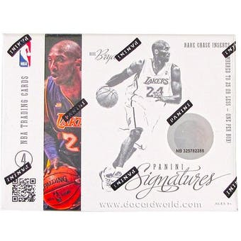 2012/13 Panini Signatures Basketball Hobby Box