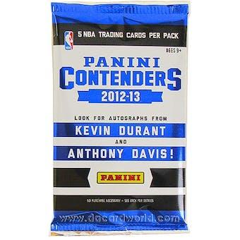 2012/13 Panini Contenders Basketball Hobby Pack
