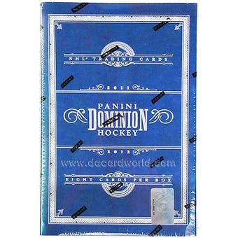 2011/12 Panini Dominion Hockey Hobby Box