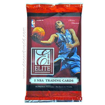 2012/13 Panini Elite Basketball Hobby Pack