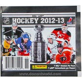 2012/13 Panini Hockey Sticker Pack
