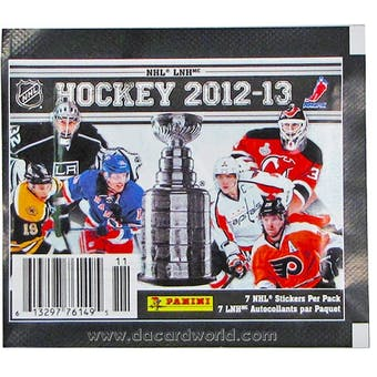 2012/13 Panini Hockey Sticker Pack