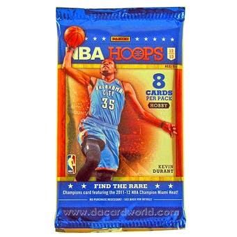 2012/13 Panini Hoops Basketball Hobby Pack