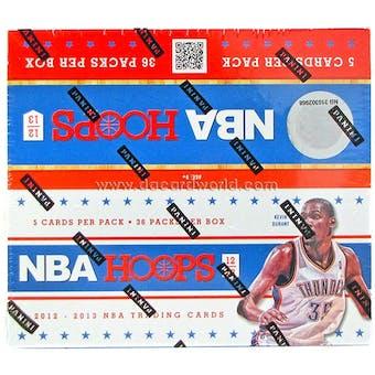2012/13 Panini Hoops Basketball Retail 36-Pack Box