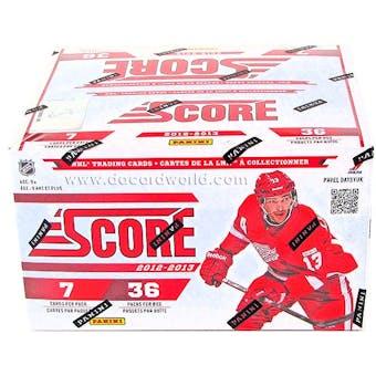 2012/13 Score Hockey 36-Pack Box