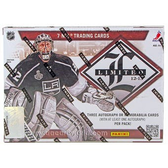 2012/13 Panini Limited Hockey Hobby Box
